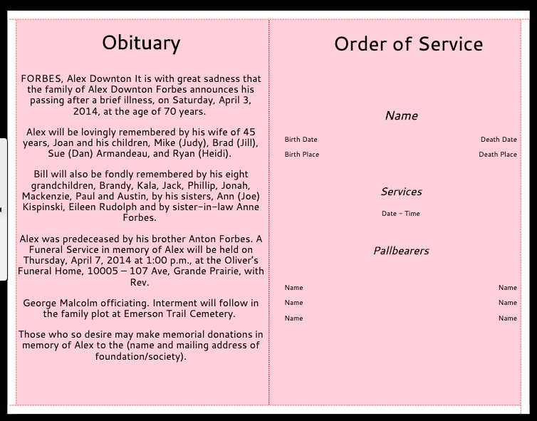 Add-Obituary-and-Order-Of-Service